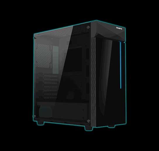 Gigabyte C200 Glass 1